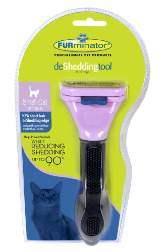FURminator Short Hair deShedding Tool for Small Cats