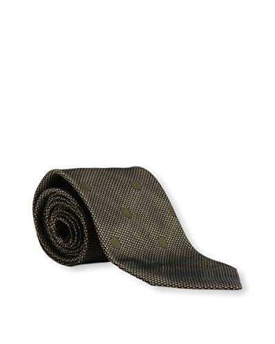 Tom Ford Men's Dot Silk Tie, Green