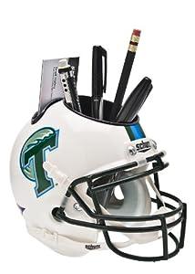 Buy NCAA Tulane Green Wave Helmet Desk Caddy by Schutt