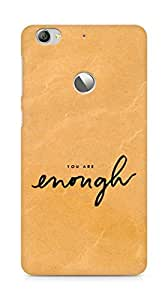 AMEZ you are enough Back Cover For Letv Le 1S