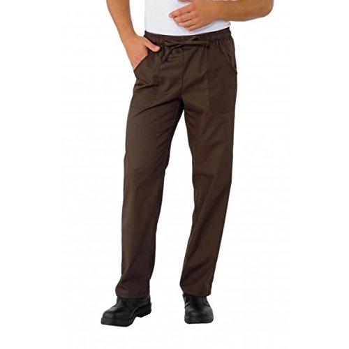 ATELIER DEL RICAMO - Pantaloni Con Elastico In Vita Isacco, Colore: Marrone, Taglia: S