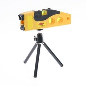 Loctek® Niveau laser avec 4 fiole de laser ligne de bulles & standard trépied magnétique
