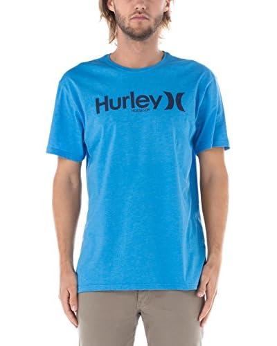Nike Hurley Camiseta Manga Corta Hossegor Azul Royal