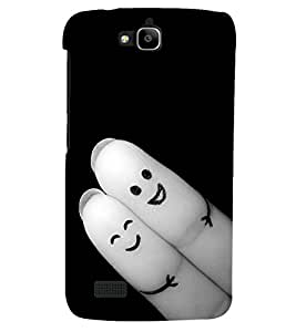 PRINTSHOPPII LOVE CUTE Back Case Cover for Huawei Honor Holly::Honor Holly