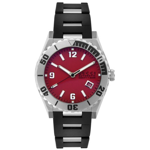 GUCCI Men's YA115217 115 Collection Pantheon Automatic Watch