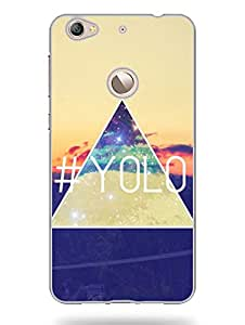 YOLO - Designer Printed Hard Back Shell Case Cover for LetV 1S Superior Matte Finish LetV 1S Cover Case