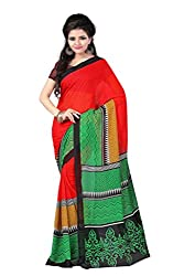 Khatushyam Textiles gerogette printed saree enhance your personality in casualy