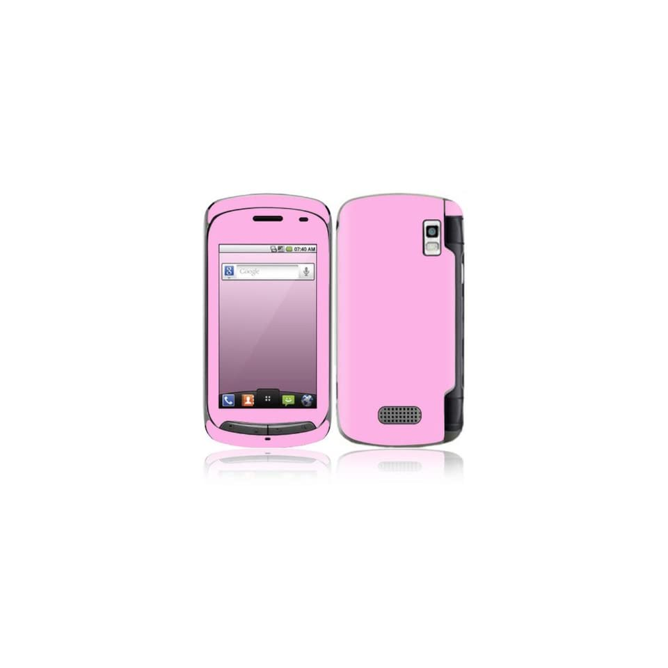Simply Pink Design Decorative Skin Cover Decal Sticker for LG Genesis US760 Cell Phone