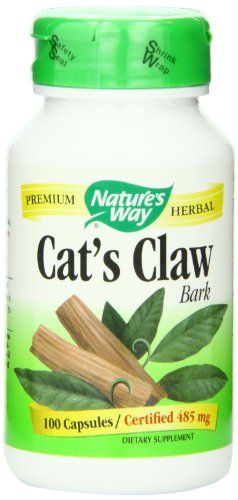 Nature's Way Cats Claw Bark 485mg (100 Capsules)