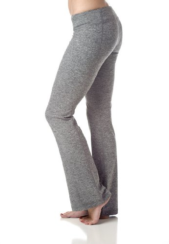 Soybu Women's Lotus Yoga Pant,Granite Heather,XS