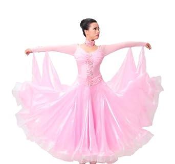 Colorfulworldstore robe de femme personnalis e pour danses de salon modernes - Salon prestige organza ...