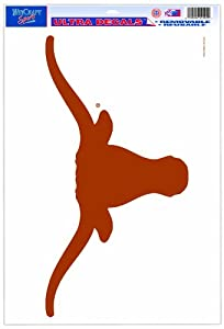 Buy NCAA Texas Longhorns 11-by-17 Ultra Decal by WinCraft