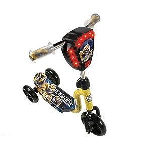 Dynacraft 3 Wheel Preschool Scooter - Transformers