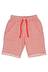 Chalk by Pantaloons Boy's Cotton Shorts (205000005608286, Red, 6-7 Years)