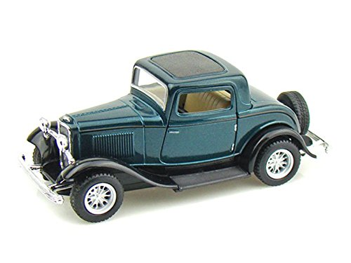1932 Ford 3-Window Coupe 1/34 Green