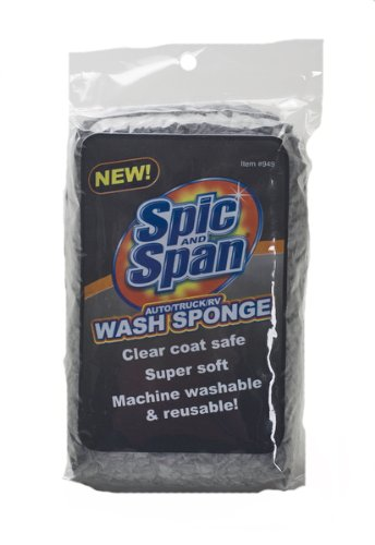 spic and span kleen maid 00949 grey one size chenille auto wash sponge reviews metadubi. Black Bedroom Furniture Sets. Home Design Ideas