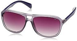Fila Gradient Square Unisex Sunglasses - (SF8970K57W81MSG|57|Smoke Gradient)