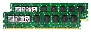 Transcend JM1333KLN-8GK Mémoire pour PC 8 Go Kit JM DDR3 1333 DIMM CL9 2R