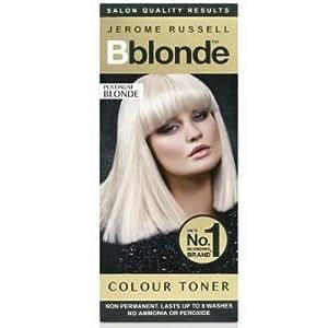 Bblonde Toner Platinum Blonde Non Permanent No Ammonia