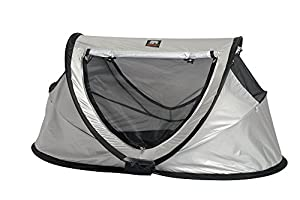 Travel Cot Peuter Luxe (Silver) from Deryan