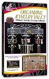 """Organizing Jewelry Valet (White) (14.5""""H x 23.75""""W x 2.375""""D)"""