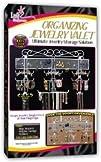 Organizing Jewelry Valet White 14.5H x 23.75W x 2.375D