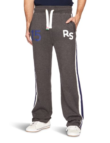 Rampant Sporting Classic Jogger Relaxed Men's Trousers Charcoal Marl W29INxL32IN,Medium