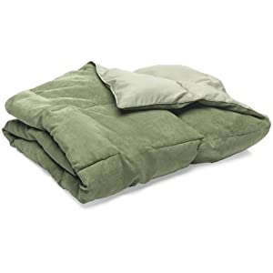 Pike Street Wraparound Comfort Throw, Olive