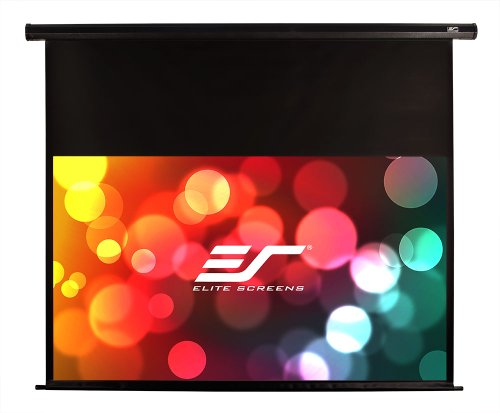 "Elite Screens Vmax120Uwh2-E24 Vmax2 Electric Projector Screen (120 Inch Diagonal 16:9 Ratio 58.9""Hx104.6""W)(24"" Drop)"