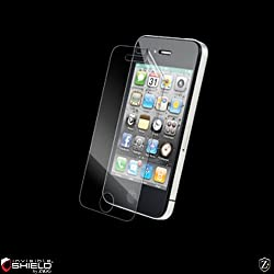 ZAGG invisibleSHIELD for Apple iPhone 4 4S (Upgraded Smudge-Proof Version)
