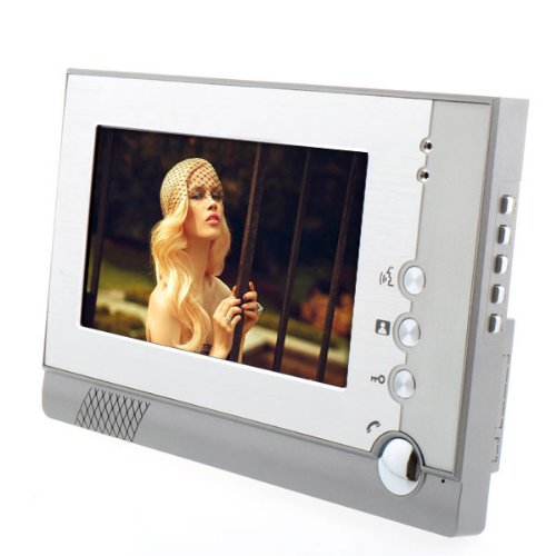 """Uoften Sy805Meid11 7"""" Id Unlocking Color Video Door Phone And Electric-Controlled Unlocking With Night Vision Function"""