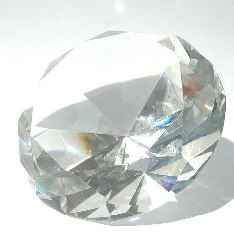 10-cm-groer-toller-Deko-Glas-Diamant-in-klar-mit-70-Facetten