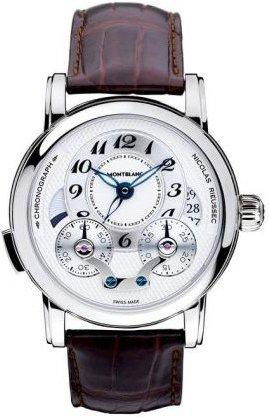 Montblanc Nicolas Rieussec Chronograph Mens Watch 106487