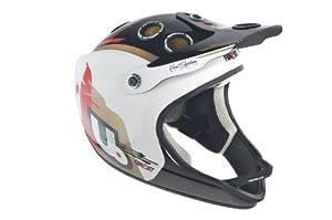 Urge Helmets Archi-Enduro Full Face Helmet Wing White Black S M by Urge Helmets
