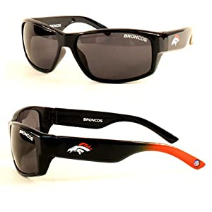 NFL Officially Licensed Denver Broncos Chollo Rectangle Sunglasses by NFL