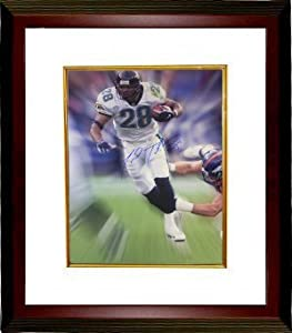 Fred Taylor signed Jacksonville Jaguars 16x20 Photo Custom Framed by Athlon Sports Collectibles