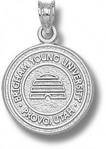 BYU Cougars Solid Sterling Silver Seal Pendant