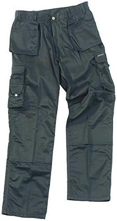 Adults Tuff Stuff Pro Work Trousers 711 Black - 28R