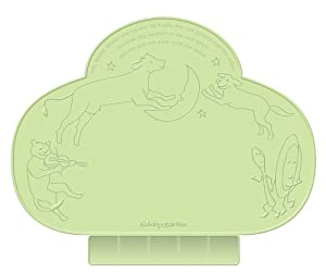 Kiddopotamus Tinydiner Placemat, Green