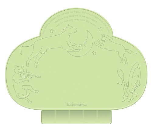 Kiddopotamus Tinydiner Placemat, Green