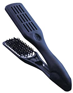 DENMAN Thermo Ceramic Vented Straightening Brush Black (Model: BD00794)