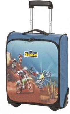 Scout Basic Kinder Koffer Trolley 42 cm Motocross
