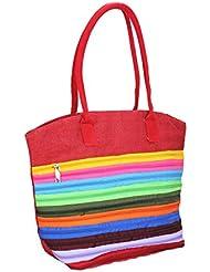Mpkart Multi Color Jute Shoulder Bag