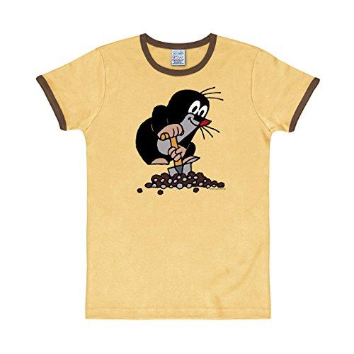 Logoshirt -  T-shirt - Maniche corte  - Uomo beige Small