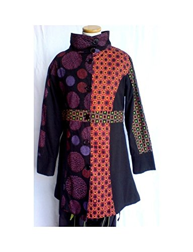 No Name -  Cappotto  - Donna multicolore L