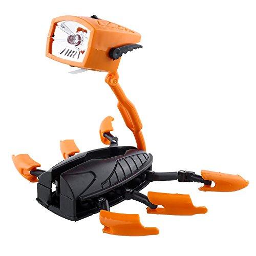 Relefree Verformbare Mini Transformer Robot LED Taschenlampe Lampe Licht scherzt Geschenk Nightlight Fun Deformations-Roboter-Taschenlampe