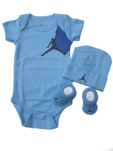 Nike Jordan Infant New Born Baby Layette 3 Piece Set front-1039861