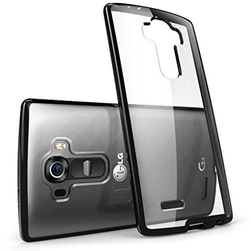 LG G4 Custodia, [antigraffio] i-Blason ** ** Trasparente [Halo Series] copertura e paraurti della cassa LG G4 2015 Release (trasparente/nero)