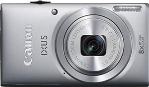 Canon IXUS 132 Digitalkamera (16 Megapixel, 8-fach opt. Zoom, 6,9 cm (2,7 Zoll) Display, bildstabilisiert) silber
