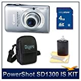 41lxGnnqr8L. SL160  PowerShot SD1300 IS: Canon PowerShot SD1300IS 12.1 MP Digital Camera with 4x Wide Angle Optical Image Stabilized Zoom and 2.7 Inch LCD (Green)